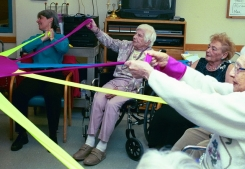 Improving Quality of Life for People with Dementia through Dance/Movement Therapy